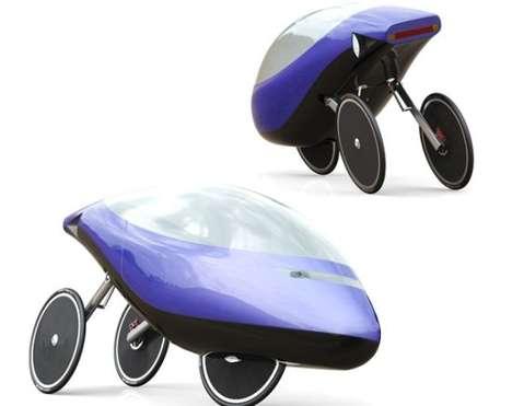 Futuristic Velomobiles