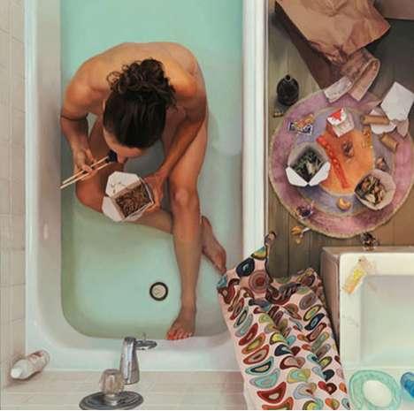 Bathroom Binge Art
