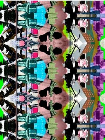 Trippy Kaleidoscopic Illustrations