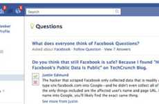 Social Media Q & A - The Facebook 'Questions' Feature Provides Answers from Around the Globe