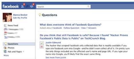 Social Media Q & A