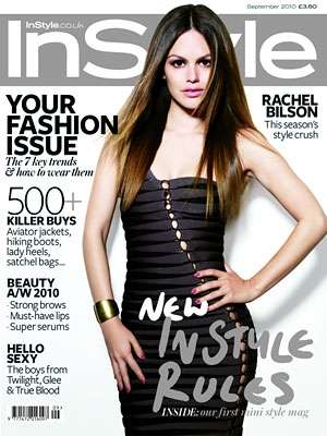 The Rachel Bilson In Style UK September 2010 Cover is Cute