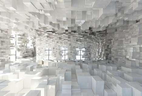 Real-Life Pixelation Art