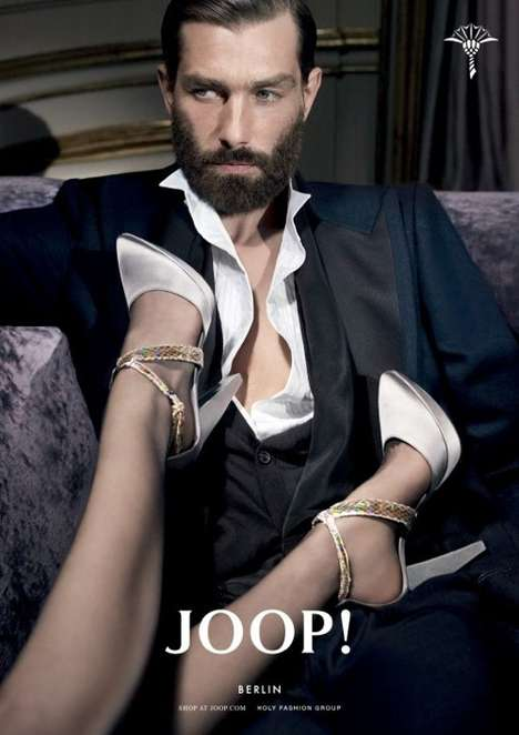 The Joop FW 2010 Campaign Intrduces Us to God's Gift to Women