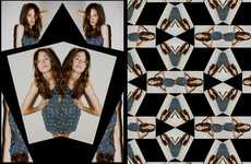 Mirror Room Lookbooks - The Margarita Saplala Spring Line is Full of Kaleidoscopic Goodness
