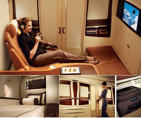 Personal Airplane Rooms - The Singapore Suite from Singapore Airlines is a $15,000 Investment