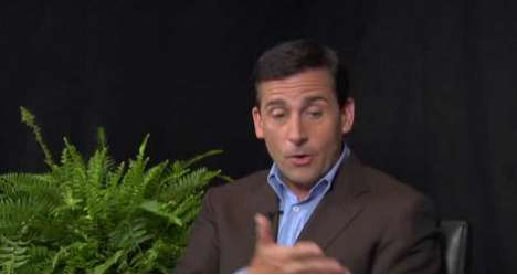 The 'Between Two Ferns' Interview Pits Steve Carell against Zach Galifianakis