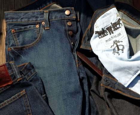 American-Made Denim Ads