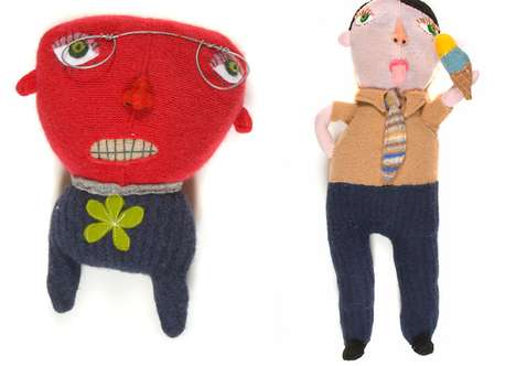 Curious Upcycled Characters