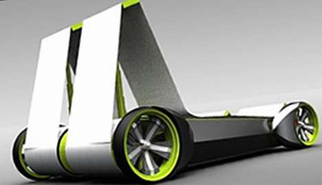 Shape-Shifting Electric Cars