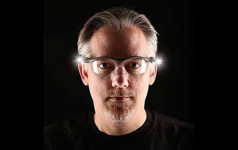Illuminating Eye Protection