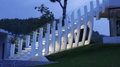 Spinal Staircases  - The Casa Son Vida 1 in Spain is Luxurious Living at Its Best