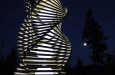 Spiral Playgrounds - The 'Helix Spire' by Erich Remash Architects is for Grown-up Kids
