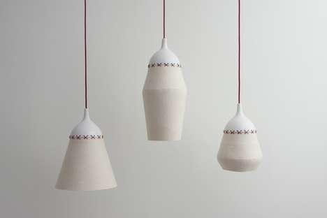 Ceramic Cup Lighting