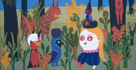 Otherworldly Oddball Paintings
