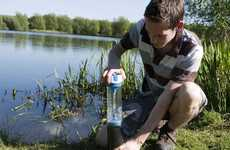 Two-Minute Water Purifiers - The Pure Water Bottle Produces Clean Water in Minimal Time