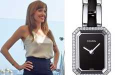 Thin Luxury Timepieces - Angelina Jolie Looks Ultra Classy in the Chanel Premiere Watch