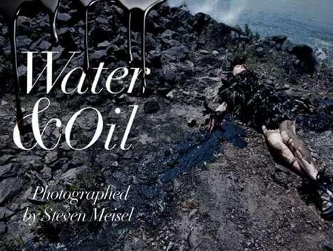Shocking Oil Spill Visuals