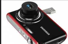 USB-Embedded Cameras - The Samsung PL90 Sheds the Need for Wires and Chargers