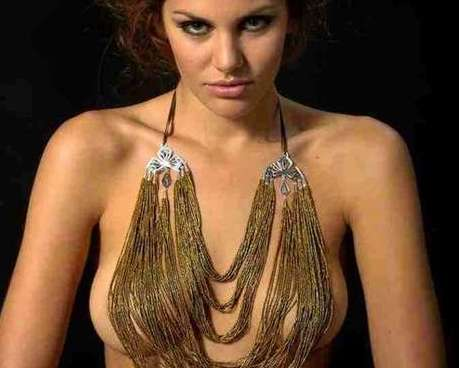Chained Necklace Lingerie