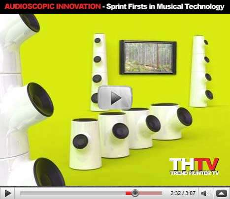 Audioscopic Innovation - Sprint Firsts in Musical Technology