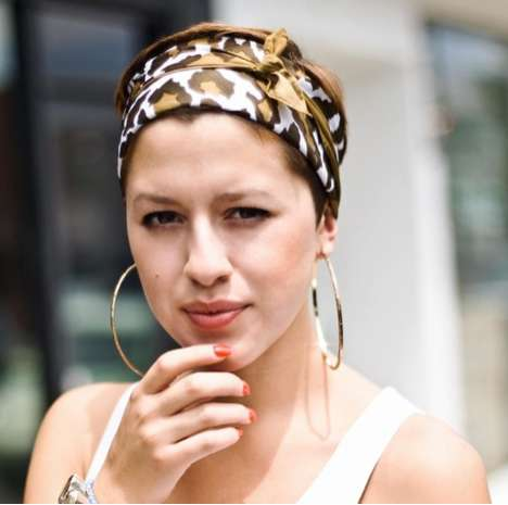 Leopard Print Headscarves
