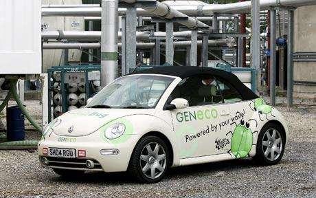 Poop-Powered Cars