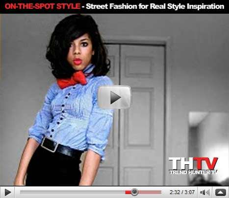 "On-the-Spot Style - Consumers Turn to Street Fashion for ""Real"" Style Inspiration"
