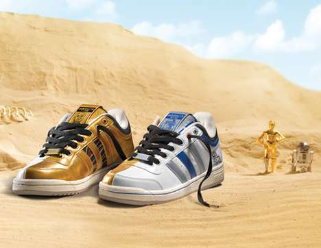 The Adidas Originals 'Star Wars' Top Ten R2-D2 and C-3PO Sneakers