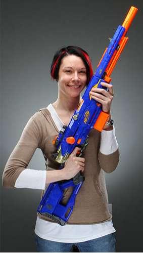 Foam-Shooting Rifles