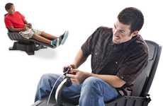 Gyroscopic Video Game Seats - The X-Dream GYROXUS PS3 Gaming Chair Lets You Feel it All