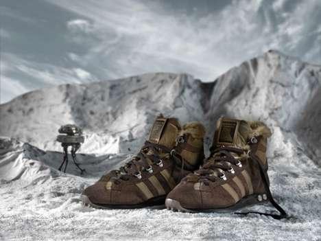 Mammoth-Inspired Footwear