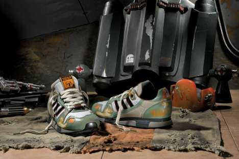 The Boba Fett Shoes from the Adidas Originals 'Star Wars' Collection