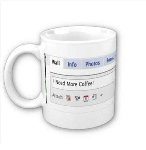 Social Media Coffee Cups