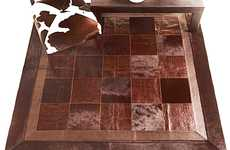 Repurposed Lumber Mosaics Wood Block Floor