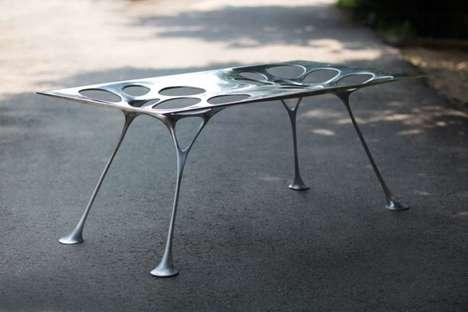 Webbed Metal Furniture