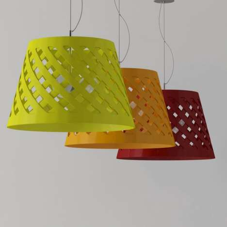 Vibrant Weaved Lighting