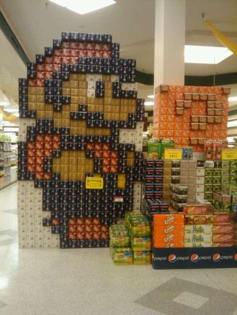 Iconic Supermarket Invasions