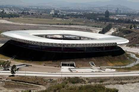 Volcanic Soccer Stadiums