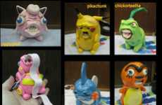 Disfigured Creature Figurines - The 'Ugly Pokemon' Sculptures are Truly Creative but Unattractive