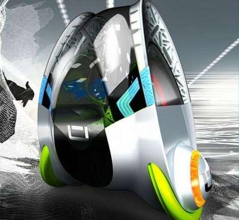 Escape Pod Concept Cars