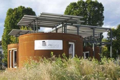 Cylindrical Solar Homes