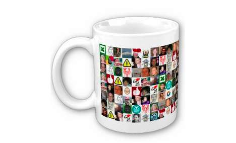 Social Media Mugs - The Twitter Friends Mug Shows Friends and Family Who You Follow