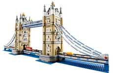 Building Block Landmarks - The LEGO Tower Bridge is Made Up of 4,287 LEGO Pieces