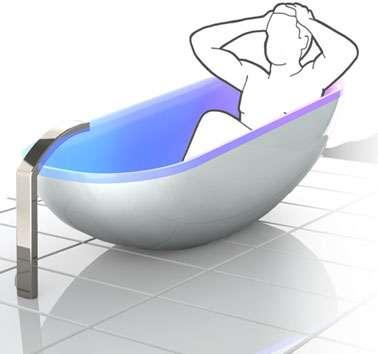 Music-Loving Bathtubs