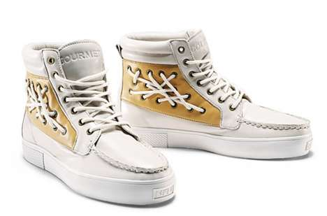 High Top Boat Shoes