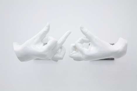 Gangster Hand Sculptures