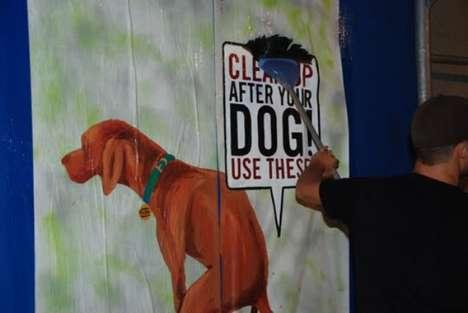 Anti-Dog Poop Posters