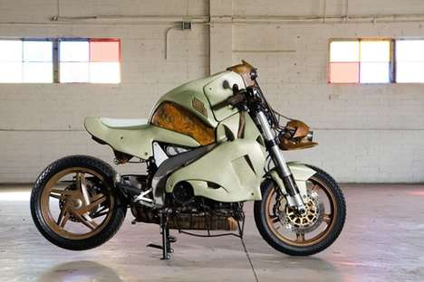 Volcano-Inspired Motorcycles