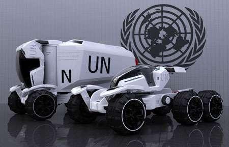 Futuristic Rescue Vehicles